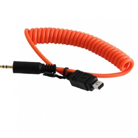 Kameras pultis - Miops Camera Connecting Cable Olympus O1 Orange - ātri pasūtīt no ražotāja