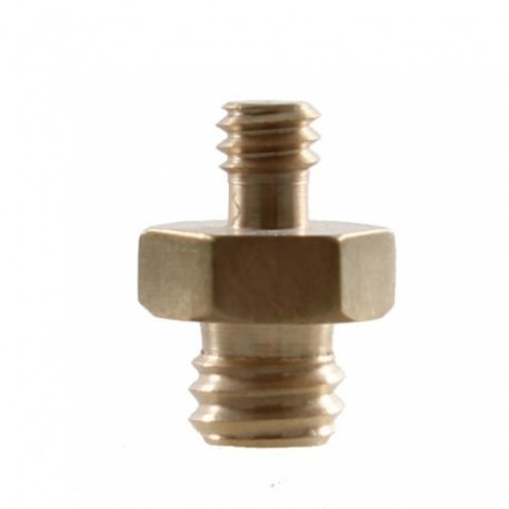 """Tripod accessories - StudioKing Spigot Adapter MC-1060 1/4"""""""" Male 3/8"""""""" Male - buy today in store and with delivery"""