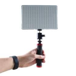 Video LED - Falcon Eyes Bi-Color LED Lamp Set Dimmable DV-240SL-K1 incl. Accu - perc veikalā un ar piegādi