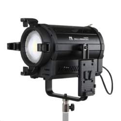 Fresnel Prožektori - Falcon Eyes Bi-Color LED Spot Lamp Dimmable DLL-1600TDX on 230V or Battery - ātri pasūtīt no ražotāja