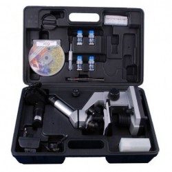 Microscopes - Byomic Beginners Microscope set 40x - 1024x in Suitcase - quick order from manufacturer
