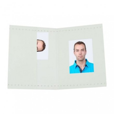 Фото подарки - Benel Photo Benel Passport Photo Wallets White 500 Pcs. - быстрый заказ от производителя