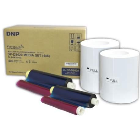 Фотобумага для принтеров - DNP Paper DM46620 2 Rolls а 400 prints. 10x15 for DS620 - купить сегодня в магазине и с доставкой