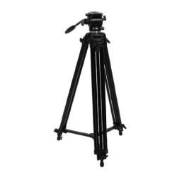 Video statīvi - Nest Video Tripod NT-777 + Fluid Damped Pan Head - perc veikalā un ar piegādi