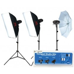 Komplekti - Falcon Eyes Studio Flash Set SSK-3200D with Bag with Trigger set - ātri pasūtīt no ražotāja