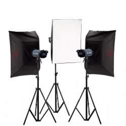 Studijas zibspuldžu komplekti - Falcon Eyes Studio Flash Set TFK-3600L with LCD Display - ātri pasūtīt no ražotāja