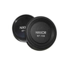 Крышечки - Pixel Lens Rear Cap BF-15L + Body Cap BF-15B for Nikon - купить сегодня в магазине и с доставкой