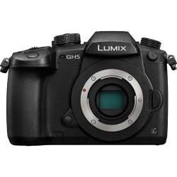 Bezspoguļa kameras - Panasonic Lumix DMC-GH5 black body - ātri pasūtīt no ražotāja