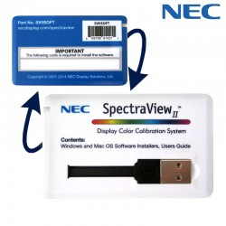 PC Monitors - NEC SpectraView II USB License - quick order from manufacturer