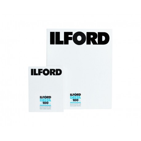 Photo films - Ilford Film 100 Delta Ilford Film 100 Delta 4x5 25 Sheets - quick order from manufacturer