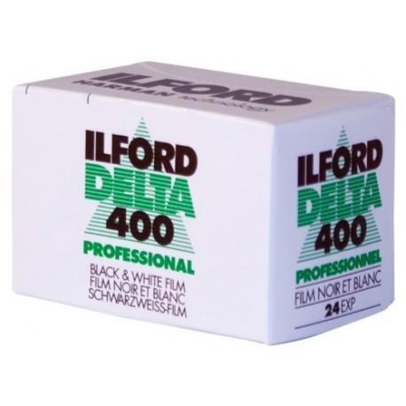 Фото плёнки - HARMAN ILFORD FILM 400 DELTA 135-24 - купить сегодня в магазине и с доставкой