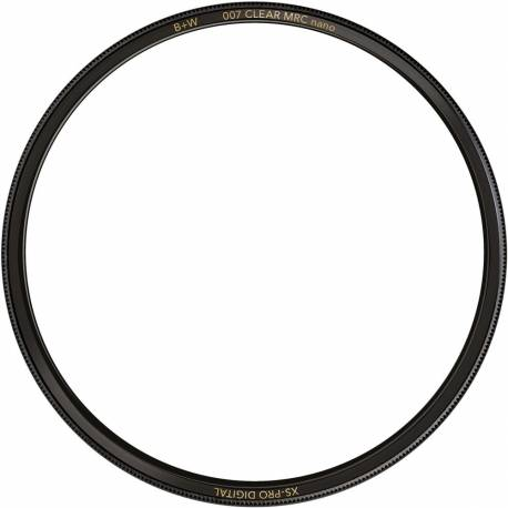 Clear Protection Filters - B+W Filter XS-Pro Digital 007 Clear filter MRC Nano 58 - quick order from manufacturer