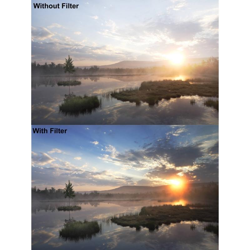 B W 702 Graduated Neutral Density 06 Filter ND 58mm MRC