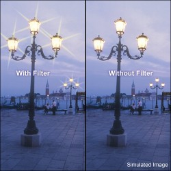 Zvaigžņu filtri - B+W Cross Screen Filter 6x 52mm - ātri pasūtīt no ražotāja