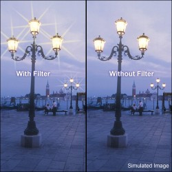 Cross Screen Star - B+W Filter F-Pro 688 Star effect filter 8x 58 - quick order from manufacturer