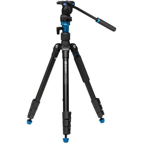 Video statīvi - Benro A1883FS2C travel video statīvs ar galvu Aero2 - perc šodien veikalā un ar piegādi