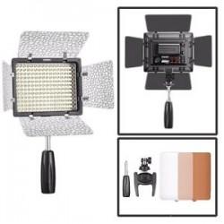 LED uz kameras - Yongnuo YN-160III led gaisma - ātri pasūtīt no ražotāja