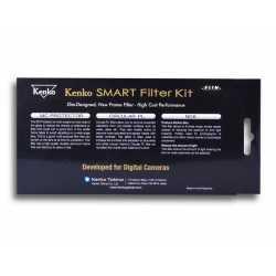 Комплект фильтров - KENKO SMART FILTER 3-KIT PROTECT/CPL/ND8 77MM - купить сегодня в магазине и с доставкой