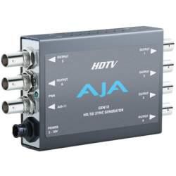 Signāla kodētāji, pārveidotāji - AJA GEN 10 Synch Generator Blackburst and Tri-level Sync Generator Converter - ātri pasūtīt no ražotāja