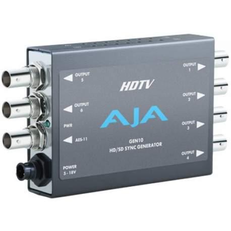 Converter Decoder Encoder - AJA GEN 10 Synch Generator Blackburst and Tri-level Sync Generator - quick order from manufacturer