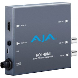 AJA ROI-HDMI HDMI to 3G-SDI with Region of Interest Scaling