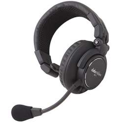 Headphones - DATAVIDEO HP 1E ONE EAR HEADPHONE WITH MIC HP-1E - quick order from manufacturer