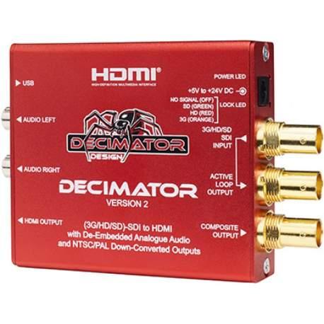 Decimator Design DECIMATOR 2 SDI to Composite/HDMI Converter (DD-DEC-2)
