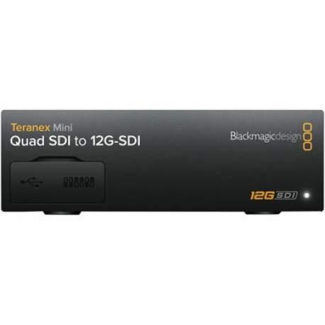 Blackmagic Design Teranex Mini Quad Sdi 12g Sdi Bm Convntrm Da Qdsdi Converter