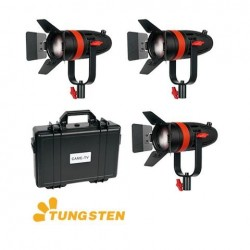 Fresnels Lights - CAME-TV Boltzen 55w Fresnel Focusable LED Daylight Kit 3 pcs - quick order from manufacturer