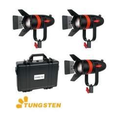 LED Fresnel Prožektori - CAME-TV Boltzen 55w Fresnel Focusable LED Daylight Kit 3 pcs - быстрый заказ от производителя
