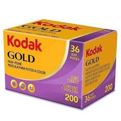 Photo films - KODAK GOLD GB 200/36 foto filmiņa - buy today in store and with delivery