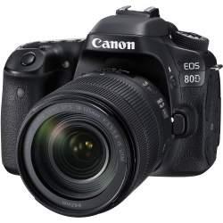 Spoguļkameras - Canon EOS 80D DSLR Camera with 18-135mm Lens - perc šodien veikalā un ar piegādi