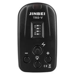 Radio palaidēji - Jinbei TRS-V 2.4GHz Remote Control palaidējs studijas gaismām - perc veikalā un ar piegādi