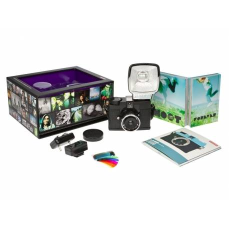 Film Cameras Lomography Diana Mini Flash Pee Noire Quick Order From Manufacturer