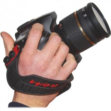 Siksniņas un turētāji - B-grip HS+QRP rokas stiprinājuma siksna+ātri noņemamā plāksne kamerai BG-1013 - perc šodien veikalā un ar piegādi
