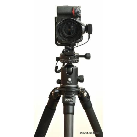 Tripod Heads - Benro B-3+PU-60 lodveida statīva galva max slodze 30kg svars 0,70kg - buy today in store and with delivery