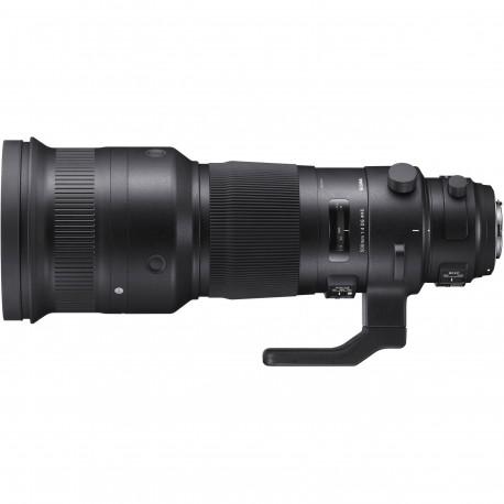 Objektīvi - Sigma 500mm F4.0 DG OS HSM Sigma [Sport] - ātri pasūtīt no ražotāja