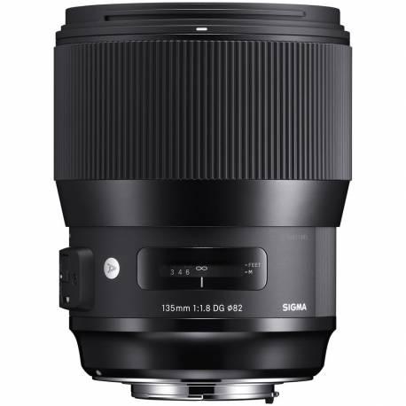 Objektīvi - Sigma 135mm F1.8 DG HSM Nikon [ART] - ātri pasūtīt no ražotāja