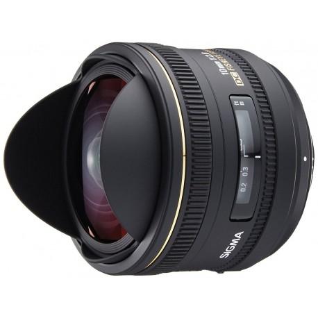 Объективы - Sigma EX 10mm F2.8 DC Fisheye Nikon - быстрый заказ от производителя