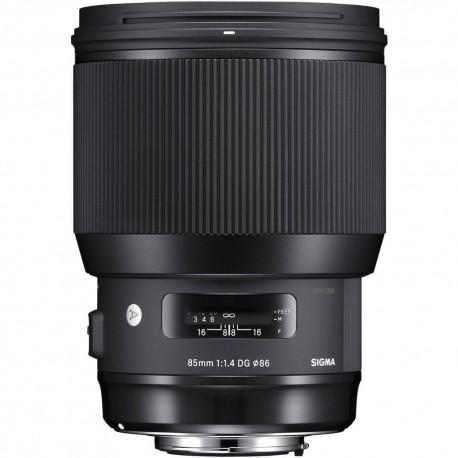 Объективы - Sigma 85mm f/1.4 DG HSM Art lens for Canon - быстрый заказ от производителя