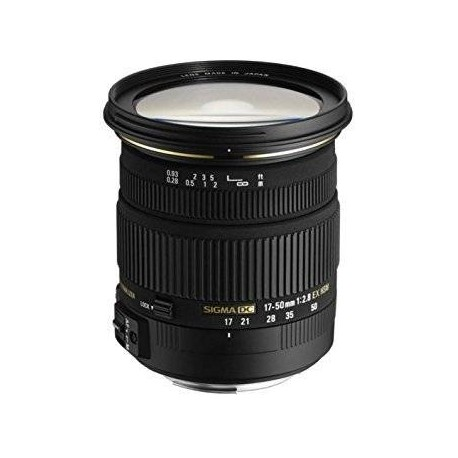 Lenses - Sigma EX 17-50mm F2.8 DC (OS)* HSM Sony - quick order from manufacturer