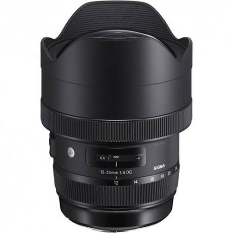 Objektīvi - Sigma 12-24мм f/4.0 DG HSM Art объектив для Canon 205954 - купить сегодня в магазине и с доставкой