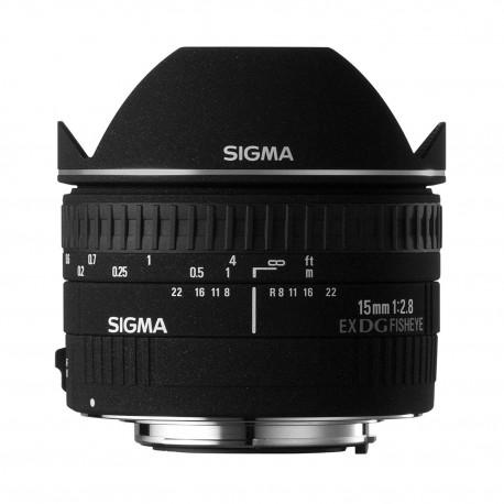 Объективы - Sigma EX 15mm F2.8 DG Diagonal-Fisheye Sony - быстрый заказ от производителя