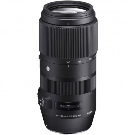 Lenses - Sigma 100-400mm f/5-6.3 DG OS HSM Contemporary lens for Canon - quick order from manufacturer