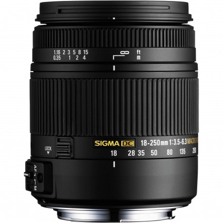 Lenses - Sigma 18-250mm f/3.5-6.3 DC Macro HSM lens for Pentax - quick order from manufacturer