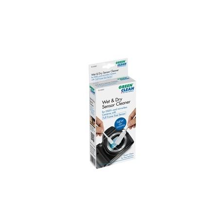 Kameras tīrīšana - Green Clean sensora tīrīšanas komplekts Wet Foam Swab & Dry Sweeper (SC-6060) - perc šodien veikalā un ar piegādi