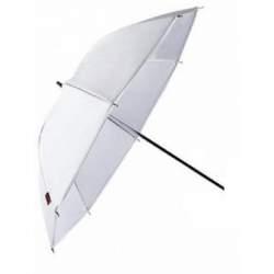 Foto lietussargi - Falcon Eyes lietussargs UR-32T 80cm, balts/puscaurspīdīgs - perc šodien veikalā un ar piegādi