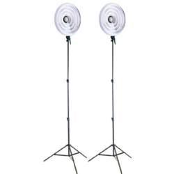 """Ring"" pastāvīgā gaisma - Falcon Eyes Ring Lamp Set RFL-3 with Light Stand - ātri pasūtīt no ražotāja"