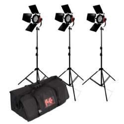 Halogēnās apgaismojums - StudioKing Halogen Video Set TLR800-3 Dimmable - ātri pasūtīt no ražotāja