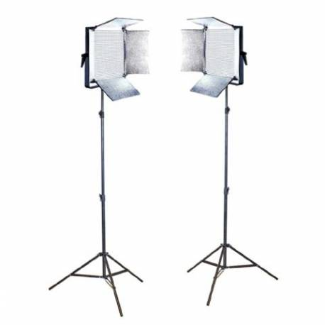 Falcon Eyes LED Light Set Dimmable LP-DB1024CT with Tripod